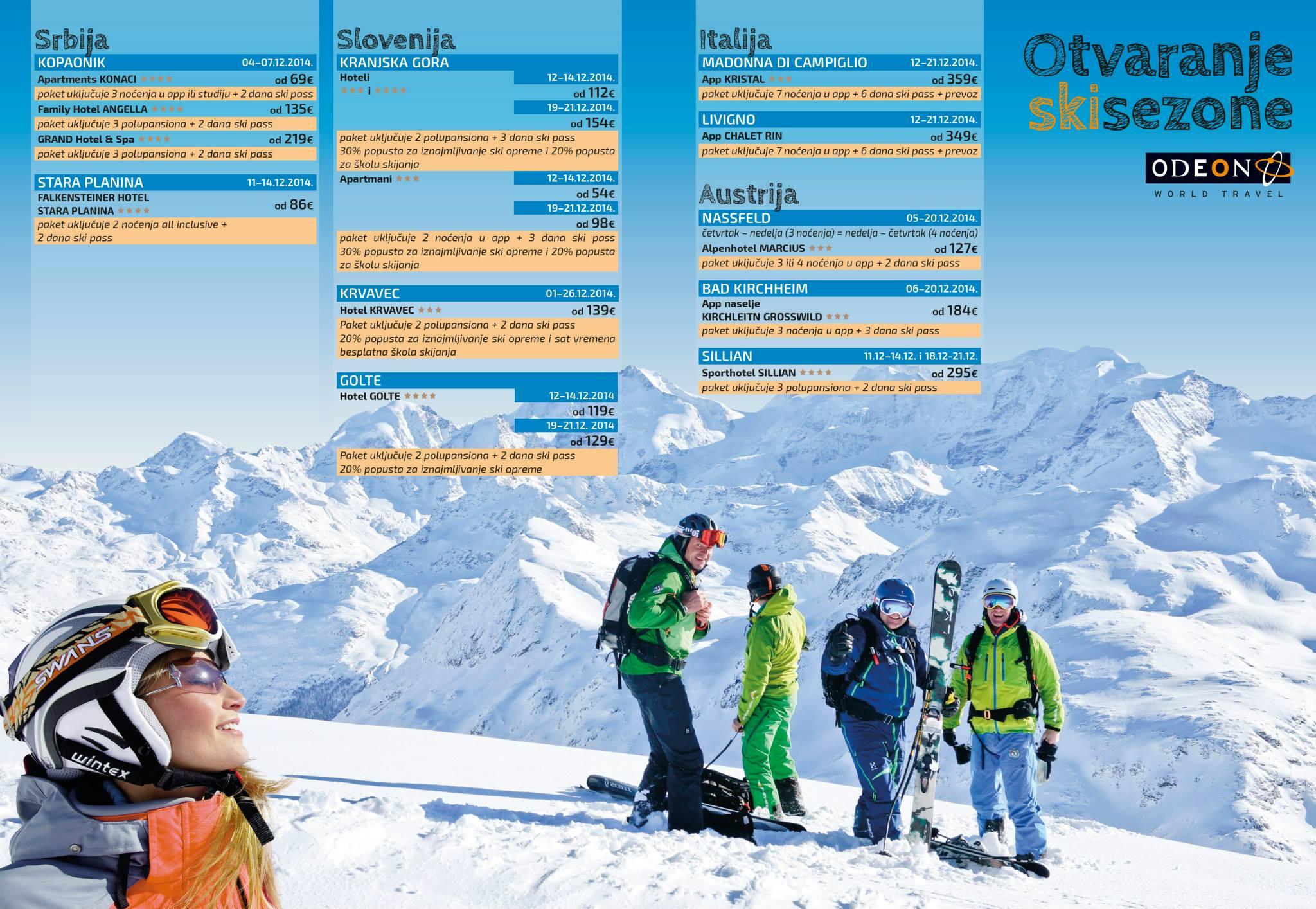 Zima Brochure Odeon WT