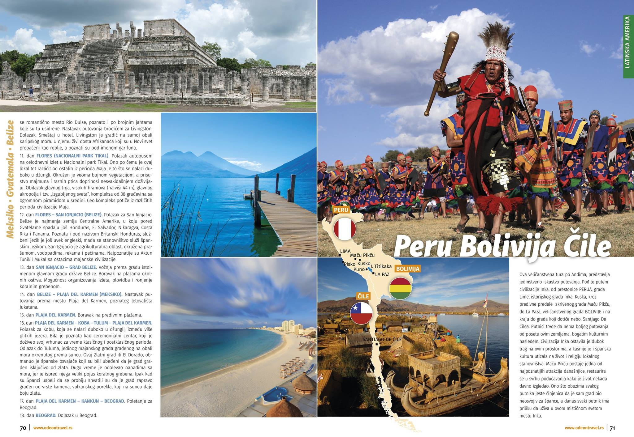 Daleke destinacije Brochure Odeon WT