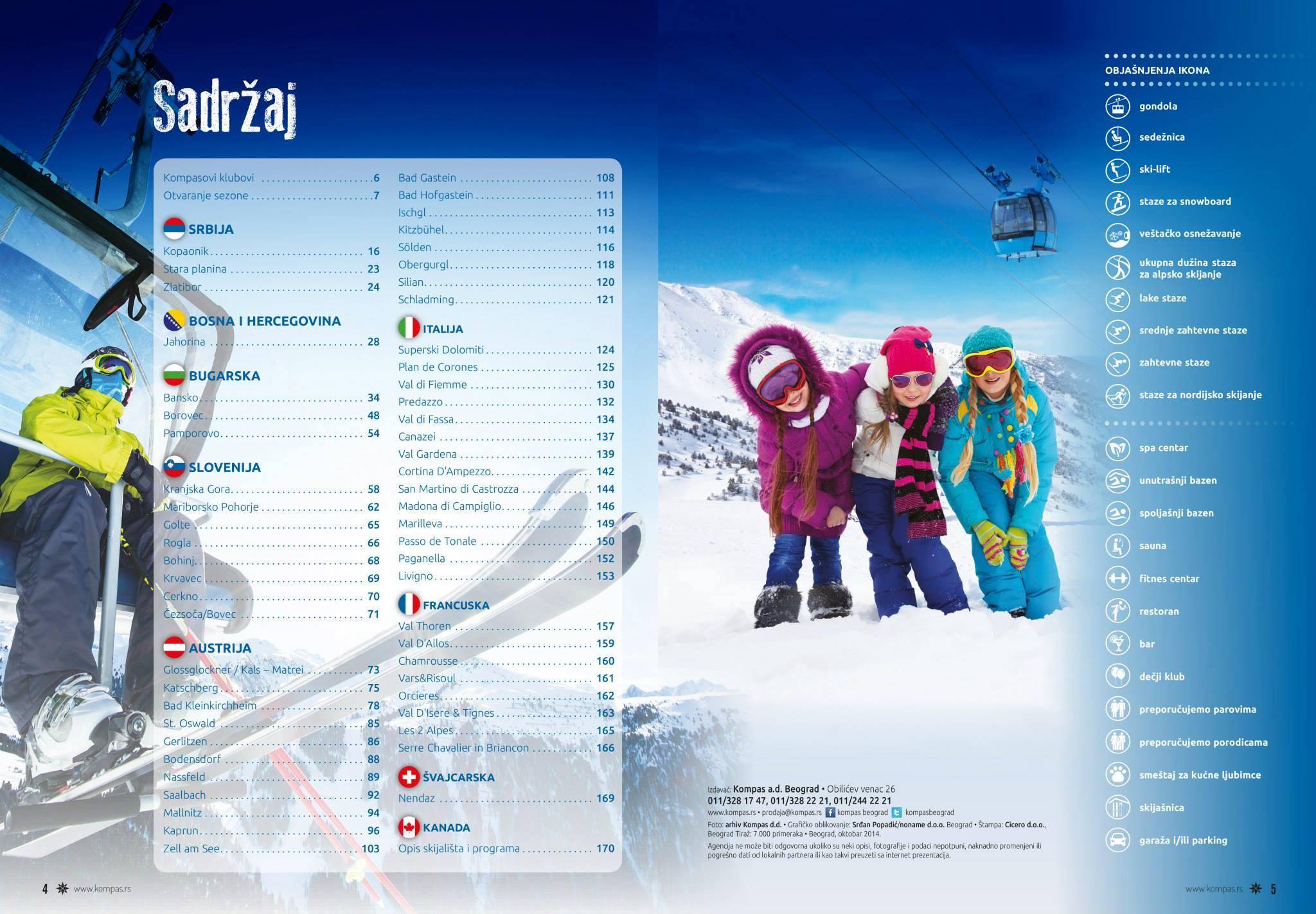 Zima Brochure Kompas